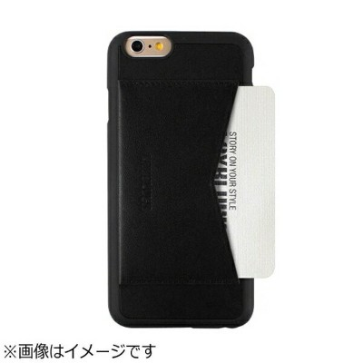 ROA iPhone6 (4.7) レザーケース Leather Pocket Bar ブラック