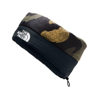 (取寄)ノースフェイス ヌプシ ヘッドバンド The North Face Nuptse Headband Burnt Olive Green Waxed Camo Print