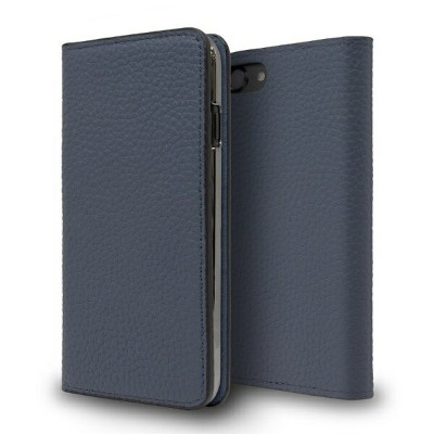CASEPLAY Leather Folio Case for iPhone 8 Navy CP-AP-PHE8-7304 Navy