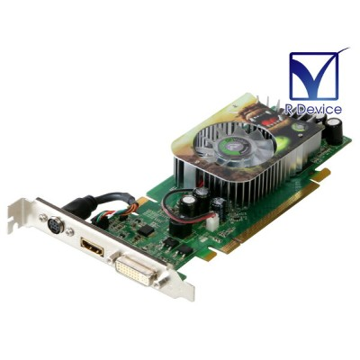 Point of View GeForce 8500 GT 256MB TV-out/HDMI/DVI PCI Express 1.1 x16 R-VGA150845HHL【中古】