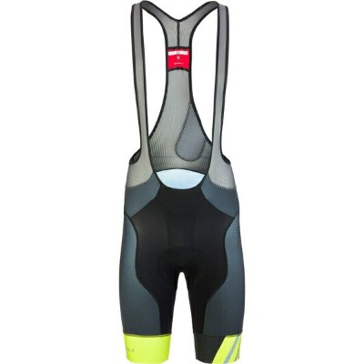 カステリ メンズ サイクリング スポーツ Free Aero Race 4 Limited Edition Bib Short - Men's Chartreuse