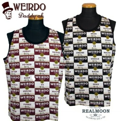 WEIRDO TANK TOP WRD CANS-GLADHAND &Co.-
