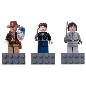 レゴ マグネット 852719 Indiana Jones Magnet Set - Indiana Jones, Mutt Williams, Irina Spalko