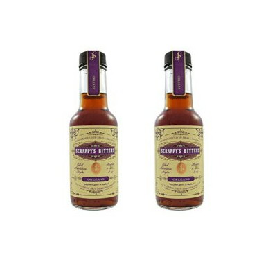 Scrappy's Bitters, Orleans, 2 Pack Bottle