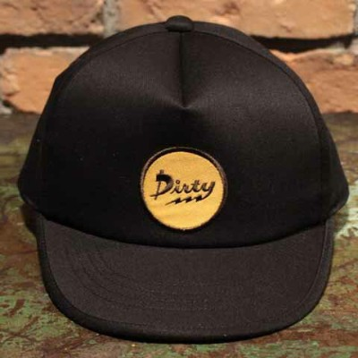 """AT-DIRTY""""ATD THUNDER CAP""""BLACK【AT-DIRTY】(アットダーティー)正規取扱店(Official Dealer)Cannon Ball(キャノンボール)【あす楽対応】"""
