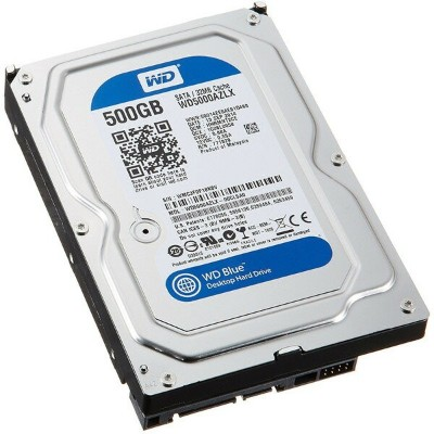 WESTERN DIGITAL WD5000AZLX WD Blueシリーズ [3.5インチ 内蔵HDD(500GB)]