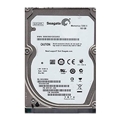 【中古】Seagate ST9160412AS Seagate-IMSourcing Momentus 7200.4 160GB 2.5インチ内蔵ハードドライブ SATA 7200rpm...