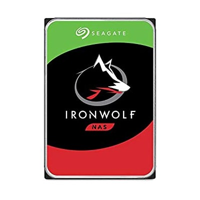 【中古】(Bulk pack (OEM) 2 TB) - Seagate 2 TB IronWolf 8.9cm 5900 RPM Internal Hard Drive for 1-8 Bay...