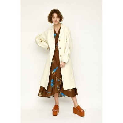 【SALE/54%OFF】SLY LINEN OVER TAILOR コート スライ コート/ジャケット コート/ジャケットその他 ホワイト ブラック【送料無料】