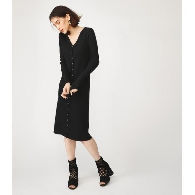 FRONT BUTTON RIB MAXI OP/スライ(SLY)