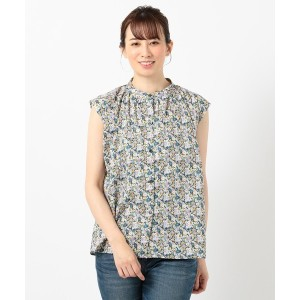 SHARE PARK LADIES  LIBERTY S/Sブラウス