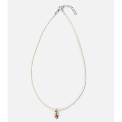 FEATHER TOP NECKLACE/アズールバイマウジー(メンズ)(AZUL BY MOUSSY)
