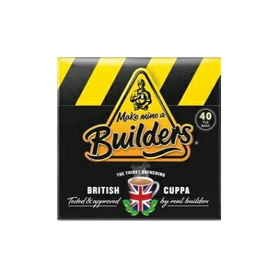 BUILDERS TEA BRITISH, 4.4 OZ