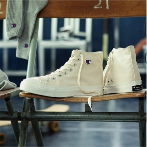 Champion 【UNISEX】【MADE IN JAPAN】SPIN COURT HI