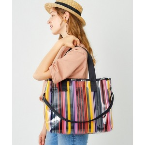 LeSportsac CLEAR 2 IN 1 TOTE/レディアント キーズ