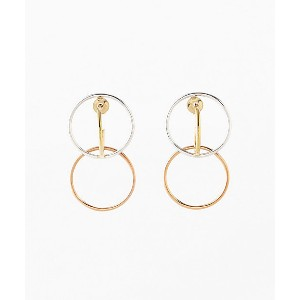 Charlotte Chesnais(Women)/シャルロット シェネ  ピアス Galilea Small Earrings(Pair)(15BO021VEAR) SILVER/PNK...