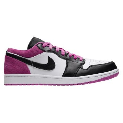 (取寄)ジョーダン メンズ シューズ AJ 1 ロー SE Jordan Men's Shoes AJ 1 Low SE Black Active Fuchsia White