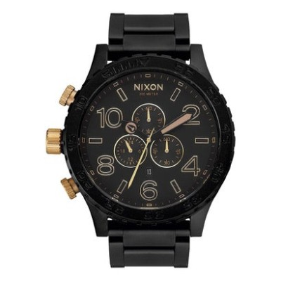 ニクソン NIXON 51-30 Chrono (Matte Black / Gold)