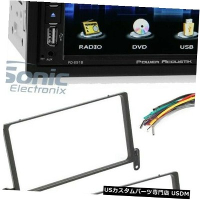 "In-Dash Power Acoustik 6.5 ""1999-2003 Ford F-150用Bluetooth搭載車内ダッシュレシーバー Power Acoustik 6.5"" Car In..."