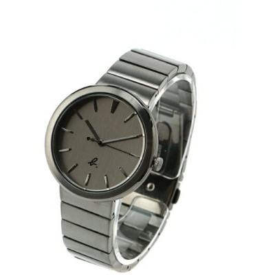 HOMME HOMME/(M)LM01 WATCH FCRK984 時計 アニエスベー ファッショングッズ 腕時計 グレー【送料無料】