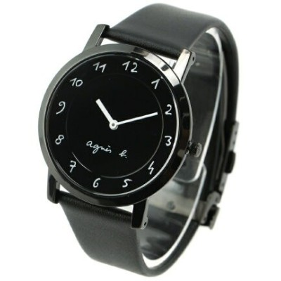 agnes b. HOMME HOMME/(M)LM02 WATCH FCRK987 時計 アニエスベー ファッショングッズ 腕時計 ブラック【送料無料】