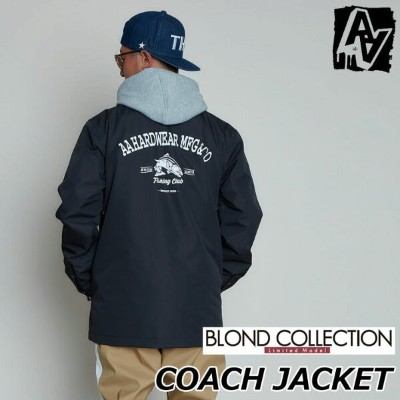 20-21 AA ダブルエー メンズウエアー COACH JACKET コーチジャケット BLOND COLLECTION ship1【返品種別OUTLET】