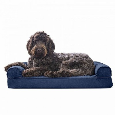 Furhaven Pet Products FurHaven Pet Dog Bed | Quilted Couch Sofa-Style Pet Bed for Dogs & Cats Jumbo...