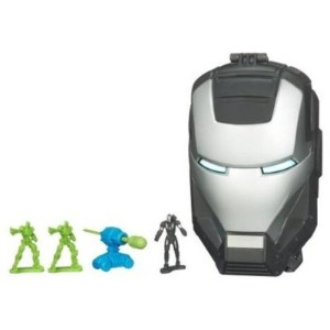 Iron Man 2 アイアンマン2 ヘッド プレイセット Movie Series Micro Head Playset War Machine