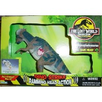 Jurassic Park ジュラシックパーク 恐竜 フィギュア The Lost World Dino-Strike Pachycephalosauras (Ram Head)