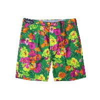 POLO RALPH LAUREN FLORAL PRINT SHORTS (SLIM-Fit/5859123: COUNTRY CLUB FLORAL)ポロラルフローレン/ショーツ/緑×マルチ