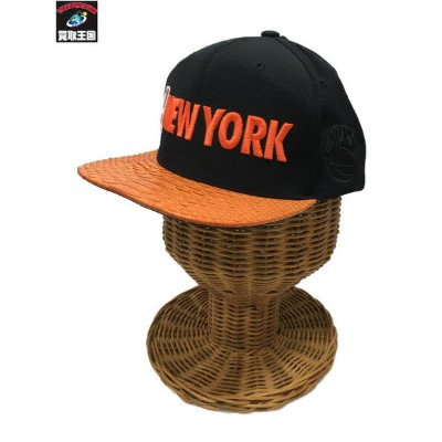 JUST DON×RSVP mitchell&ness キャップ NEW YORK KNICKS【中古】