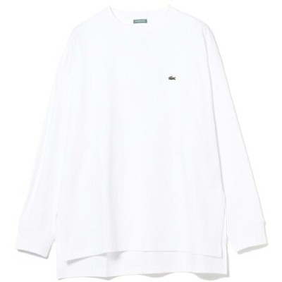 B:MING by BEAMS LACOSTE × B:MING by BEAMS / 別注 ロングスリーブ Tシャツ 20AW ビーミング ライフストア バイ ビームス カットソー Tシャツ...