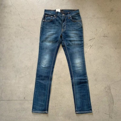 NUDIE JEANS / TAPE TED - ORG. WHITE KNEE(ヌーディージーンズ テープテット)