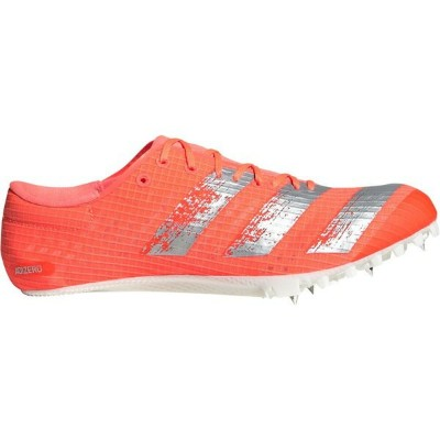アディダス メンズ 陸上 スポーツ adidas Men's adizero Finesse Track and Field Cleats Red/Silver