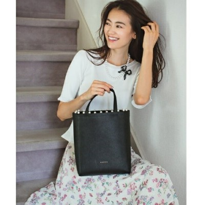 TRIM PEARL TOTE トートバッグ/トッカ(TOCCA)