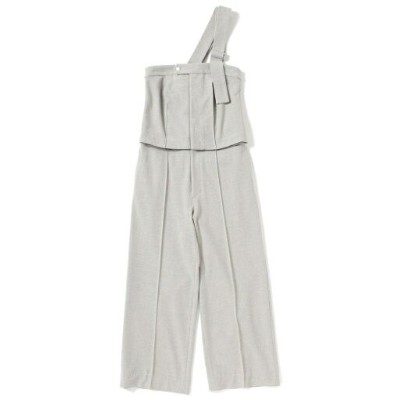 【SALE/70%OFF】BEAMS BOY maturely / One Shoulder Suit ビームス ウイメン ワンピース オールインワン グレー【送料無料】