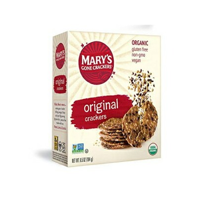 Mary's Gone Crackers, Original, 6.5 Ounce, Pack of 6