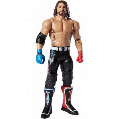WWE ダブル・ダブル・イー Top Picks Aj Styles 6-Inch Action Figure with Life-Like Detail 格闘技・プロレス 【送料無料】【代引不可】...