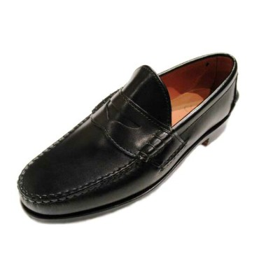 RANCOURT(ランコート)/BEEFROLL PINCH PENNY LOAFER/black