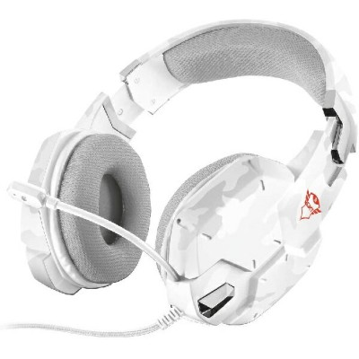 TRUST GAMING-GXT 322W Gaming Headset-white camouflage[新品・正規保証品]