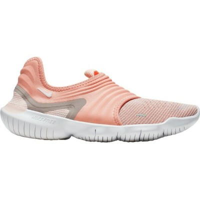 ナイキ レディース ランニング スポーツ Nike Women's Free RN Flyknit 3.0 Running Shoes Pink/White
