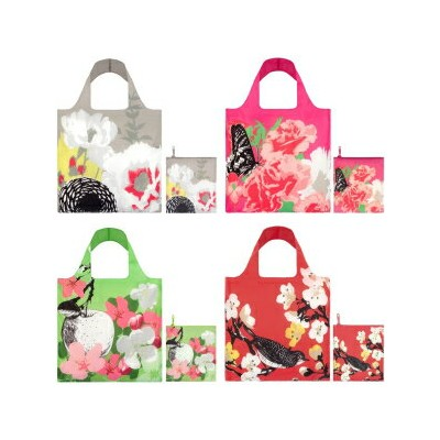 Visit the LOQI Store LOQI Prima Collection Pouch Reusable Bags, Multicolored, Set of 4