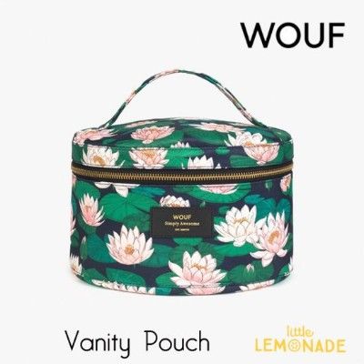 【WOUF】 バニティポーチ 【Nenuphares】 XL Beauty 睡蓮 蓮 花 おしゃれpouch メイクアップバッグ メイクポーチ 化粧ポーチ ポーチ 小物入れ 旅行ポーチ 化粧品入れ...