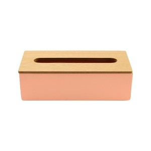 BRID COLOR/WOOD TISSUE CASE○002769 Pink その他雑貨