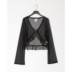 X-girl LACE GOWN○05193301 Black トップス