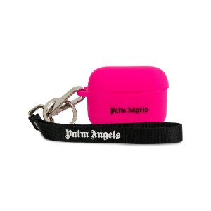 Palm Angels ロゴ AirPods ケース - ピンク