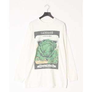 re. mate remate/niche vg longsleeve tshirts(CABBAGE)○MT1CUT03CABBAGE White トップス