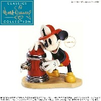 WDCC ミッキー ミッキーの消防士 1204801 Fireman to the rescue 【ポイント最大41倍!楽天スーパーSALE】