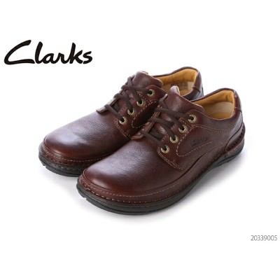 CLARKS クラークス シューズ メンズ Nature Three 20339005 Mahogany Leathe