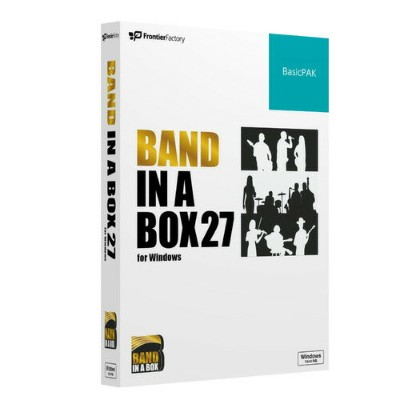 フロンティアファクトリー Band-in-a-Box 27 for Win BasicPAK PGBBRBW111